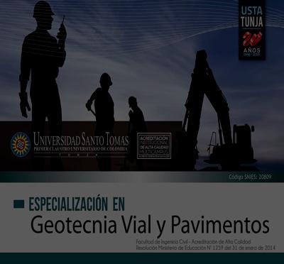 Esp Geotecnia Vial y Pavimentos
