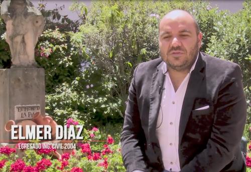 Special Recognition to Elmer Roman Díaz
