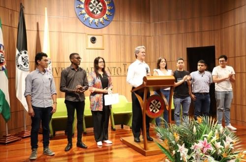 Студенческие представители USTA Колумбия встретились в Вильявисенсио