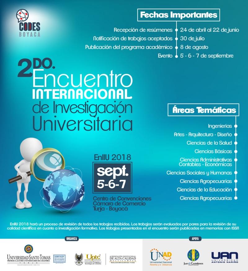 Бояка готовится жить на II Международном совещании университетских исследований, EnIIU 2018