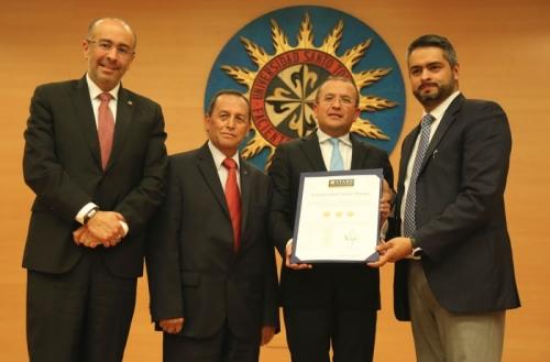 Santo Tomás University gets three stars in the QS Stars Ranking
