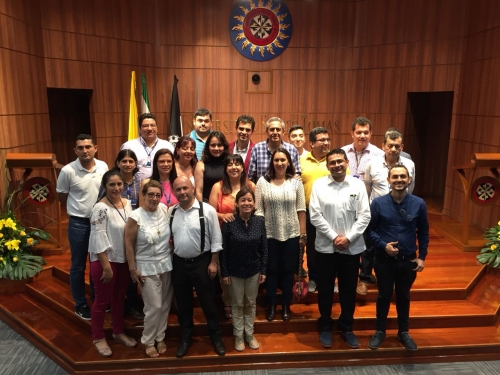 Студенты секции Тунья, лауреаты первого места на Национальной Олимпиаде фундаментальных наук