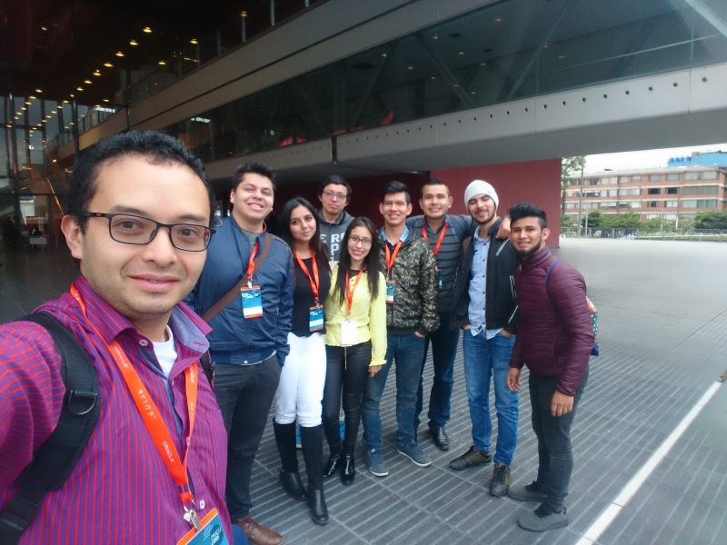 Future Systems Engineers of the Santoto, lived a great experience in software development in #OracleCode Bogotá 2018