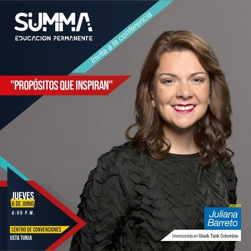 "Talk ""Purposes that inspire"" in the USTA Tunja"