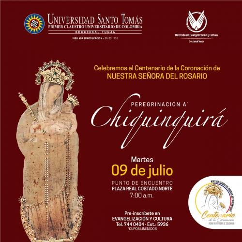 Tomasinos at the Coronation Centenary of the Virgen del Rosario de Chiquinquirá