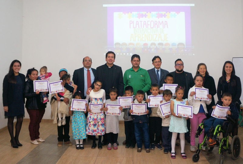 Closure of the Interactive Learning Platform project - PIA was developed in Tuta, Boyacá