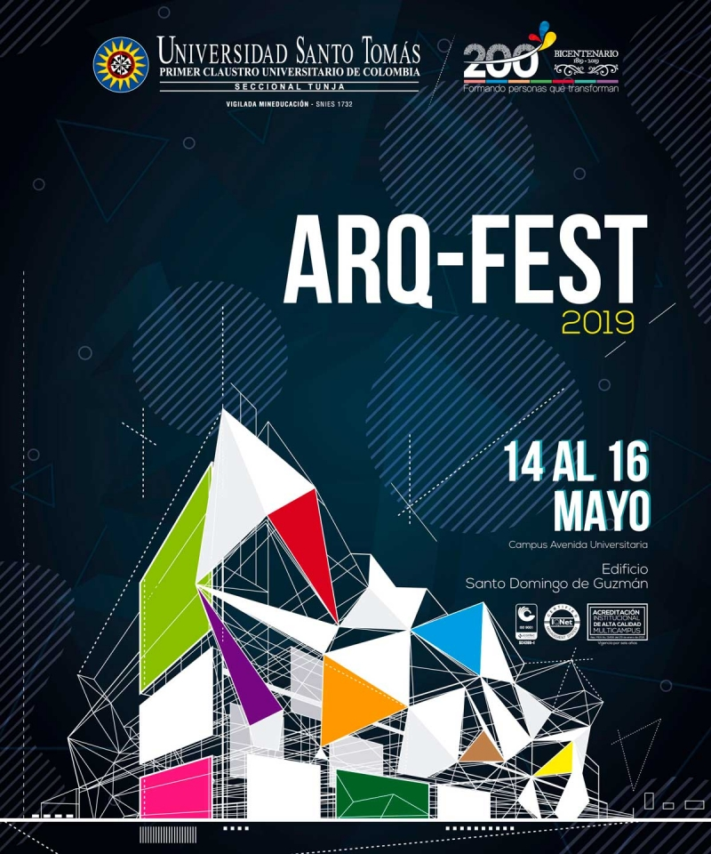 Three days of design and architecture will be lived in the ARQ-FEST 2019