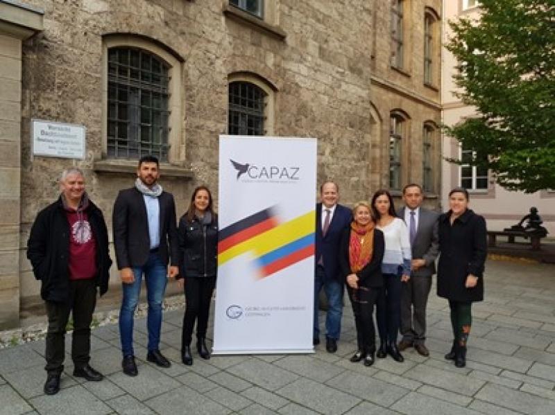 Учителя Томасиноса участвуют в семинарах по вопросам правосудия, мира и примирения в Университете Геттингена
