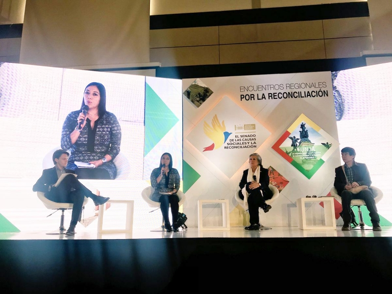 Santo Tomás University present at the XIV Regional Meeting for Reconciliation