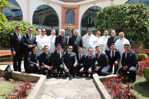 Visit of the Apostolic Nuncio to the USTA Tunja