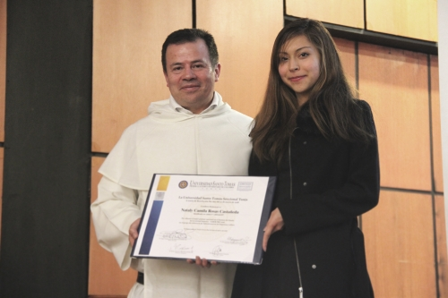 Graduated Tomasina is National Pride
