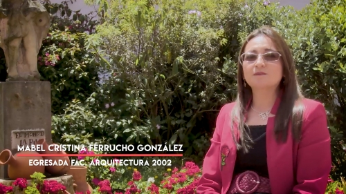 Special Recognition to Mabel Cristina Ferrucho González